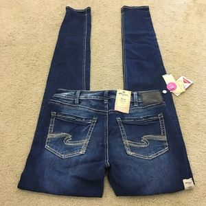 NWT Silver Avery Ankle Skinny Jeans